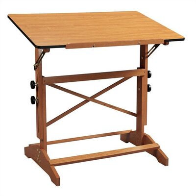 Alvin and Co. Pavilion Wood Drafting Table