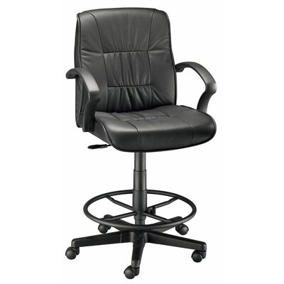 Backrest Leather Office Chair by Alvin and Co.