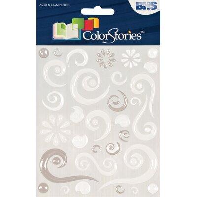 Alvin and Co. Colorstories Epoxy Swirl Stickers