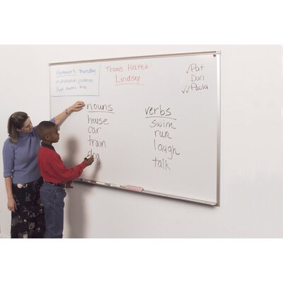 Best-Rite® Magnetic Wall Mounted Whiteboard