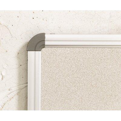 Best-Rite® Euro Trim Series Wall Mounted Whiteboard