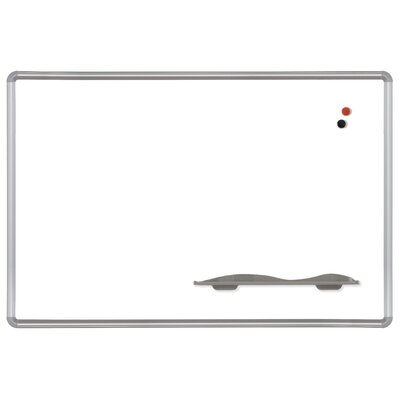 Best-Rite® Presidential Trim Magnetic Wall Mounted Whiteboard