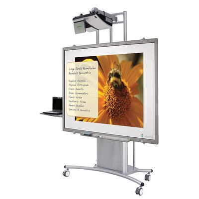 Best-Rite® Wall Mounted Magnetic Whiteboard, 4' x 6'