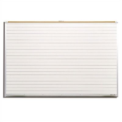 Best-Rite® Lifetime Wall Mounted Whiteboard, 4' x 8'