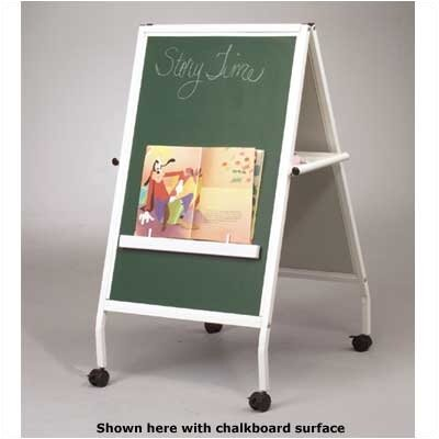 Best-Rite® White MICE Wheasel Double-Sided Easel