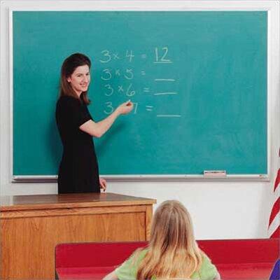 Best-Rite® Valu-Rite Wall Mounted Chalkboard