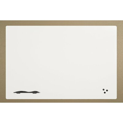 Best-Rite® Elemental Magnetic Wall Mounted Whiteboard