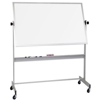 Best-Rite® Deluxe Mobile TuF-Rite Reversible Whiteboard, 4' x 8'