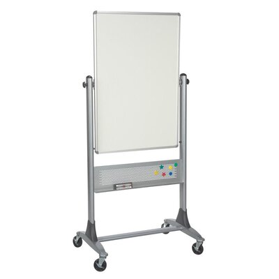 Best-Rite® Platinum Lumina Reversible Mobile Whiteboard