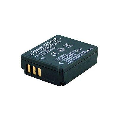 Denaq New 850mAh Rechargeable Battery for PANASONIC Cameras