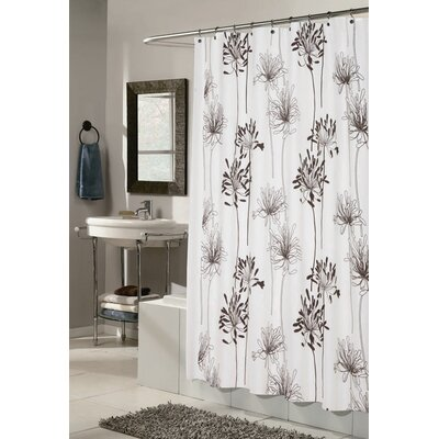 Carnation Home Fashions Cologne Shower Curtain