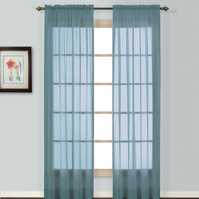 Batiste Window Rod Pocket Curtain Panel Product Photo