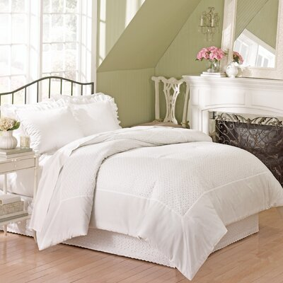 Vienna Eyelet Bedding Collection by United Curtain Co.