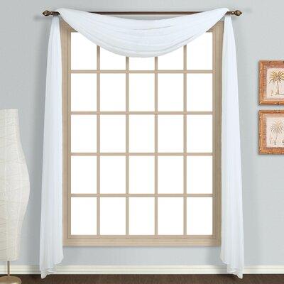 Monte Carlo Single Curtain Scarf Product Photo
