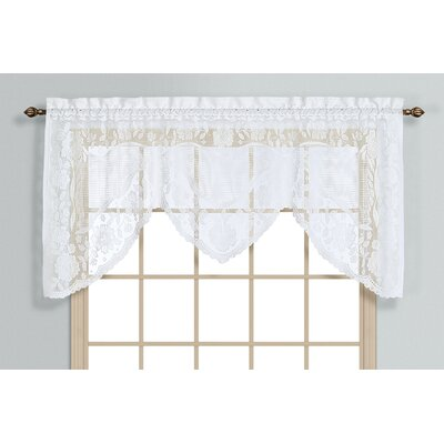 "Windsor Rod Pocket Swag 72"" Curtain Valance Product Photo"