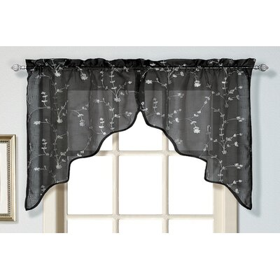 "Savannah 2 Piece 51"" Curtain Valance Set Product Photo"