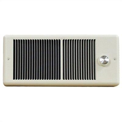 TPI Low Profile Wall Insert Electric Fan Heater