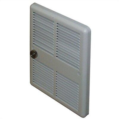 TPI Economical 2,000 Watt Wall Insert Electric Fan Heater