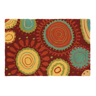 Sundew Crimson Area Rug by Company C