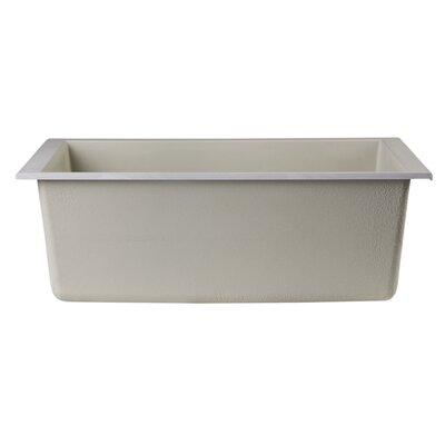 "23.63"" x 17.75"" Undermount Single Bowl Kitchen Sink Product Photo"