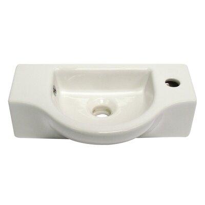 Bathroom Sink Brands : Wall Mounted Bathroom Sink by Alfi Brand