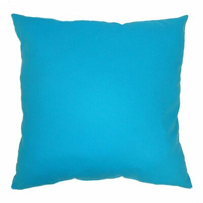 American Mills Solid Cotton Throw Pillow