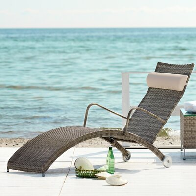 Addison Steamer Lounge Chair with Cushion by CO9 Design