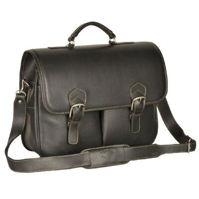 Leather Laptop Briefcase by Aston Leather
