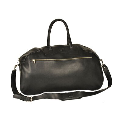 "Aston Leather 24"" Leather Gym Bag"
