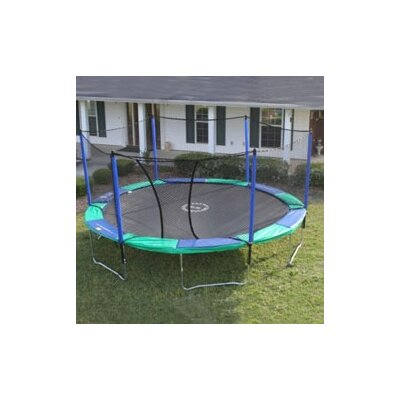 16' Round Trampoline with Enclosure Product Photo