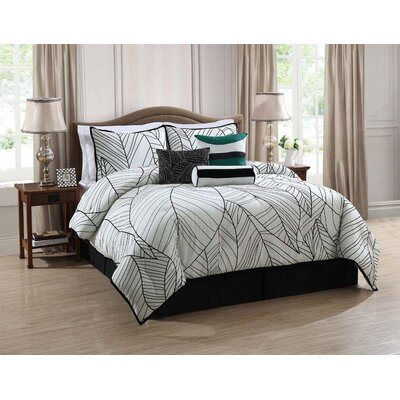 New Zealand 7 Piece Comforter Set by Monroe