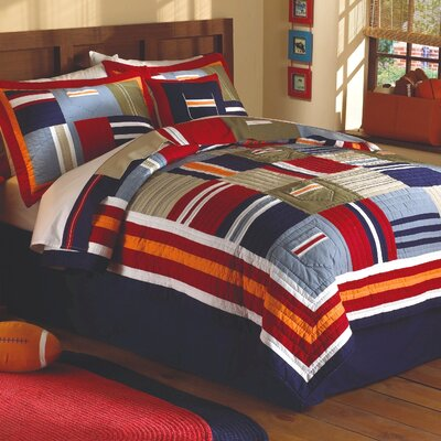 My World Ronnie Patchwork Prewashed Quilt Set