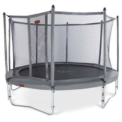 JumpFree Proline 15' Round Trampoline with Safety Enclosure Product Photo