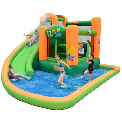 Endless Fun 11-in-1 Inflatable Water Bounce House Product Photo