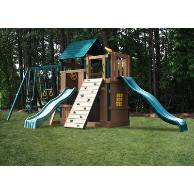 Congo Safari Lookout and Climber Swing Set Product Photo