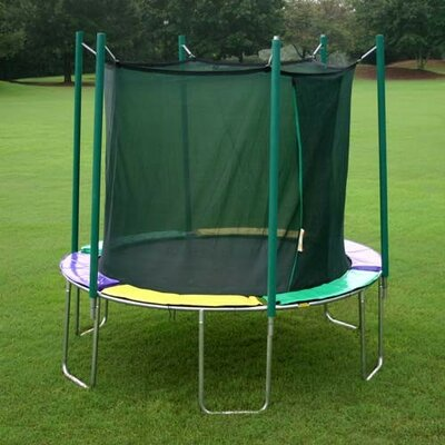12' Round Magic Circle Trampoline with Enclosure Product Photo