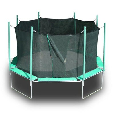 16' Octagon Magic Circle Trampoline Product Photo