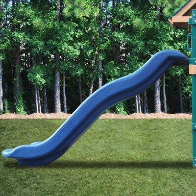 Blue Rave Slide for 5' Deck Height - Slide Upgrade for Play Sets Product Photo