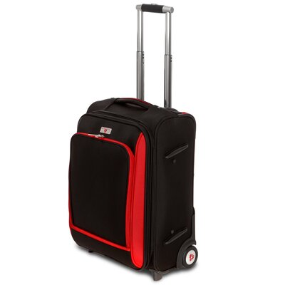 """Swiss Legend 20"""" Expandable Wheeled Carry On"""