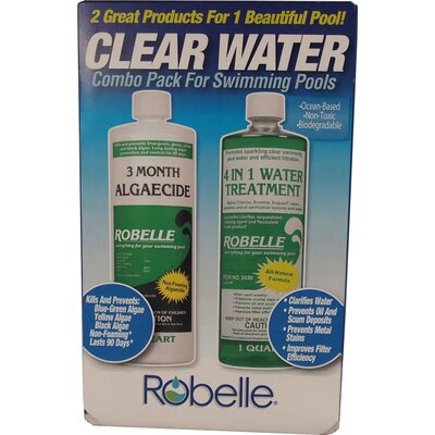 Robelle Clear Water Combo Pack