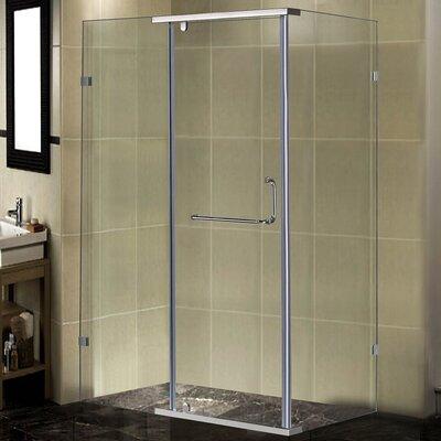 "48"" x 35"" x 75"" Pivot Door Shower Enclosure Product Photo"