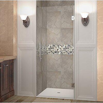 "Cascadia 24"" Frameless Hinged Shower Door Product Photo"