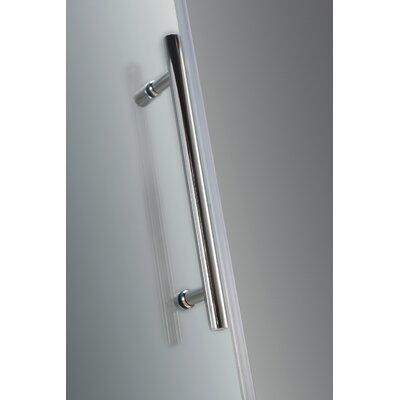 """Avalux 39"""" x 38"""" x 72"""" Completely Frameless Hinged Shower Enclosure Product Photo"""