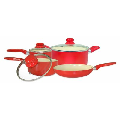 7-Piece Aluminum Cookware Set by Cook Pro