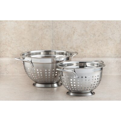 Stainless Steel Slotted Colander by Cook Pro