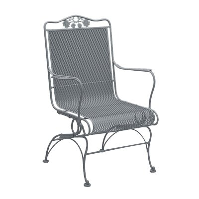 Woodard Hi,Briarwood Coil Spring High Back Chair