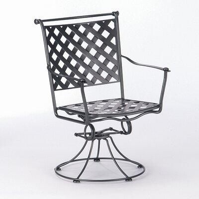 Woodard Maddox Rocking Dining Arm Chair