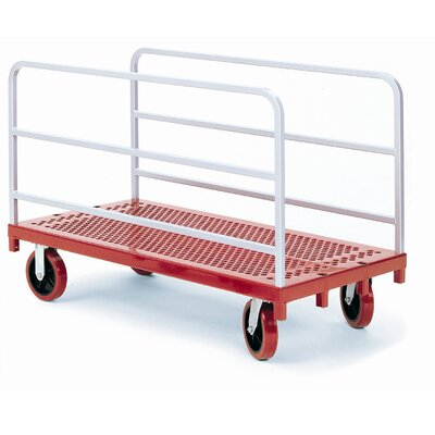 "Raymond Products 38"" x 30"" x 54"" Heavy Duty Panel/Sheet Mover Quiet Poly Casters Table Dolly"