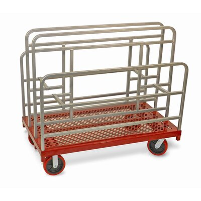 """Raymond Products 48.75"""" x 30"""" x 54"""" Coated Heavy Duty Cross Braced Panel and Sheet Mover Table Dolly"""