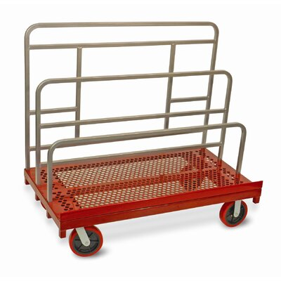 """Raymond Products 48.75"""" x 30"""" x 54"""" Coated Heavy Duty Waterfall Panel and Sheet Mover Table Dolly"""